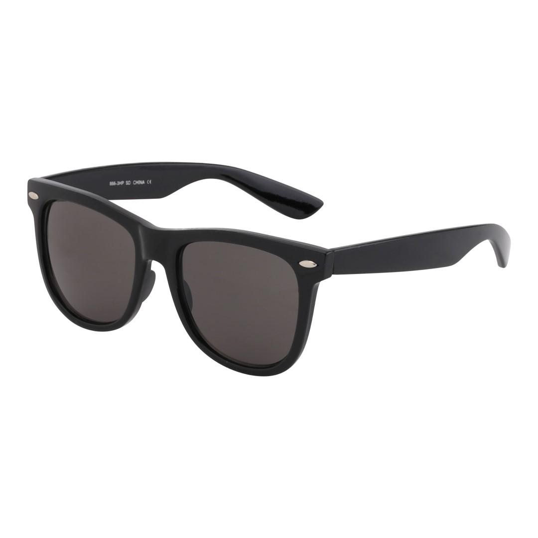 Suurikokoiset mustat Wayfarer -lasit - Design nr. 270 f17688f9b6