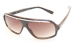Ruskeat Aviator -lasit - Design nr. 387
